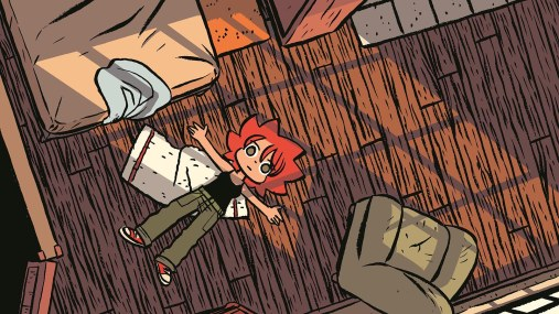 "panel from ""Seconds"" by Bryan Lee O'Malley."