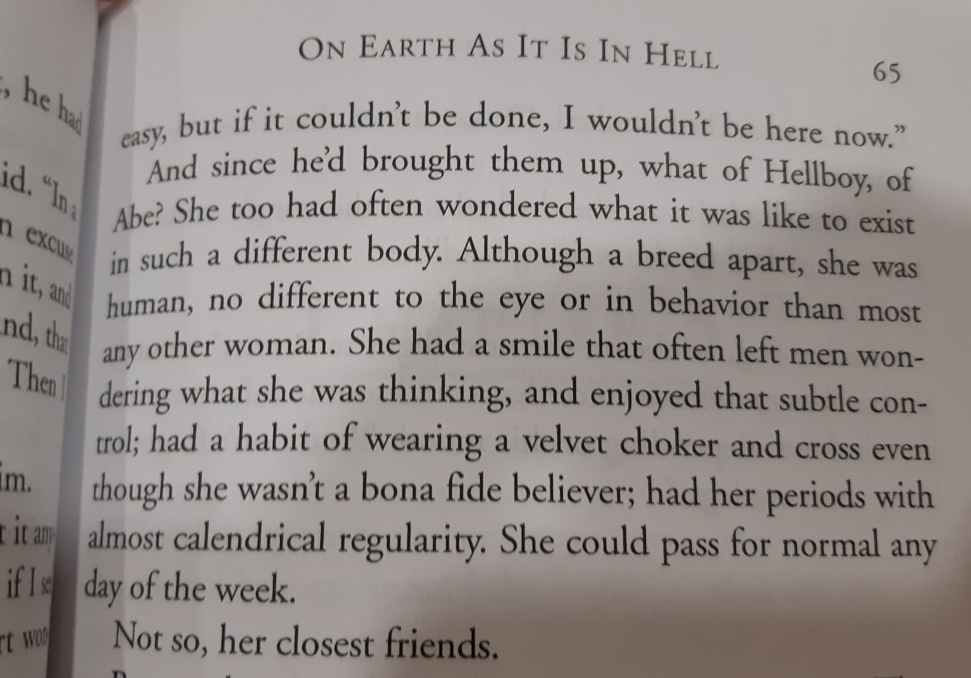 On Earth As It Is In Hell Excerpt