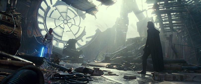 Kylo Ren Wreckage
