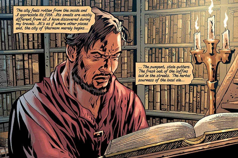 The Veil, Torn Asunder_Book