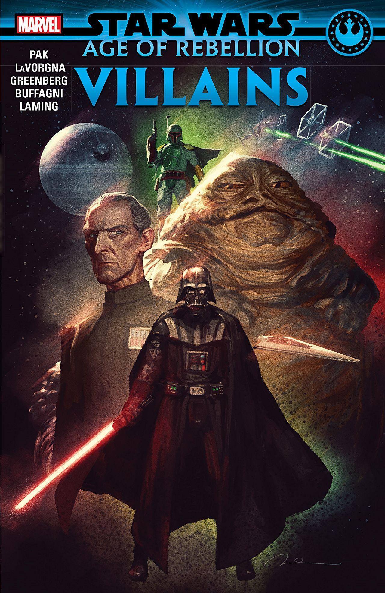 Star Wars Age of Rebellion - Villains
